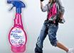 Новый дизайн! Универсальный пятновыводитель  для одежды и белья ASTONISH.